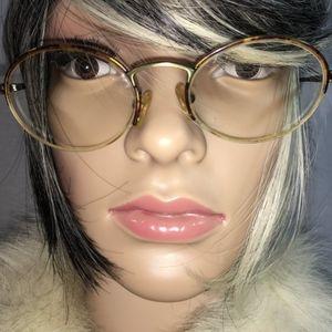Accessories - Semi-Rimless Tortoise Eyeglasses Frames
